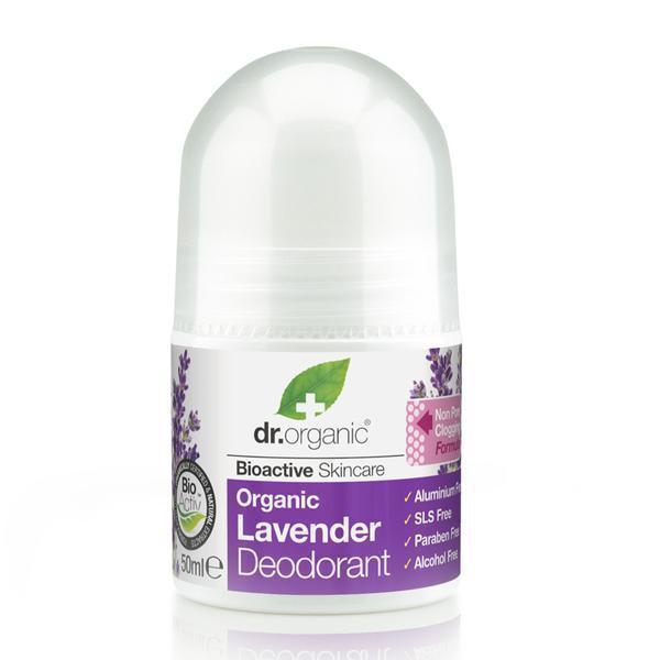 Lavender Deodorant 50Ml-Dr Organic-UAE-BEAUTY ON WHEELS