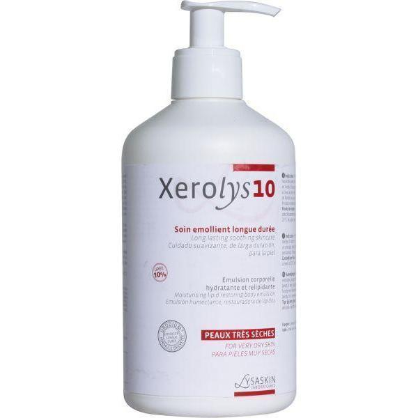 Lysaskin Xerolys 10/With Pump 200Ml-Lysaskin-UAE-BEAUTY ON WHEELS