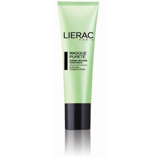 Masque Pureté Purifying Foaming Cream-Mask 50Ml-Face Care-Lierac-BEAUTY ON WHEELS-UAE-Dubai-Abudhabi-KSA-الامارات