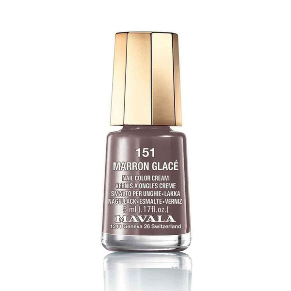 Mavala Nailpolish 151 Marron Glace-Makeup-Mavala-BEAUTY ON WHEELS-UAE-Dubai-Abudhabi-KSA-الامارات