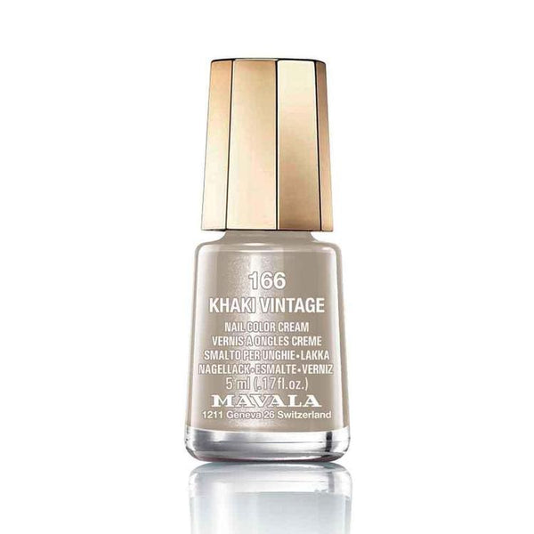 Mavala Nailpolish 166 Khaki Vintage-Makeup-Mavala-BEAUTY ON WHEELS-UAE-Dubai-Abudhabi-KSA-الامارات
