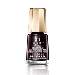 Mavala Nailpolish 248 Burgundy-Makeup-Mavala-BEAUTY ON WHEELS-UAE-Dubai-Abudhabi-KSA-الامارات