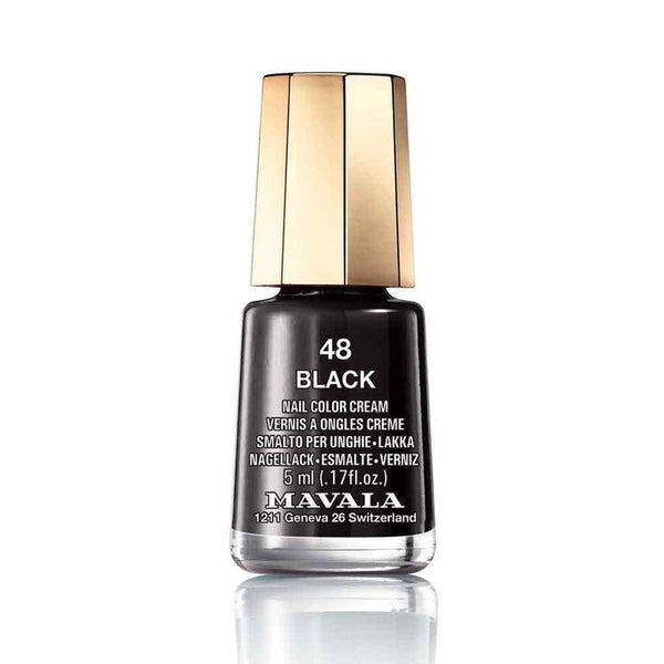 Mavala Nailpolish 48 Black-Mavala-UAE-BEAUTY ON WHEELS