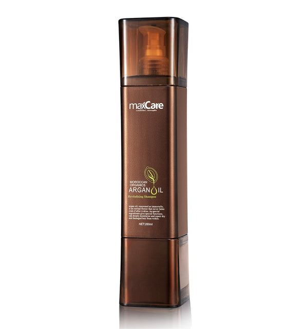 ARGAN OIL REVITALIZING SHAMPOO 260 ML-MaxCare-UAE-BEAUTY ON WHEELS