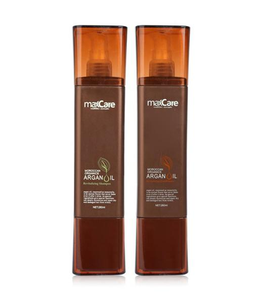 ARGAN OIL REVITALIZING SHAMPOO & CONDITIONER 260 ML-MaxCare-UAE-BEAUTY ON WHEELS