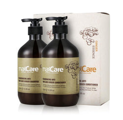 REJUVENATING ANTI HAIR LOSS GINGER SHAMPOO & CONDITIONER 500 ML-MaxCare-UAE-BEAUTY ON WHEELS