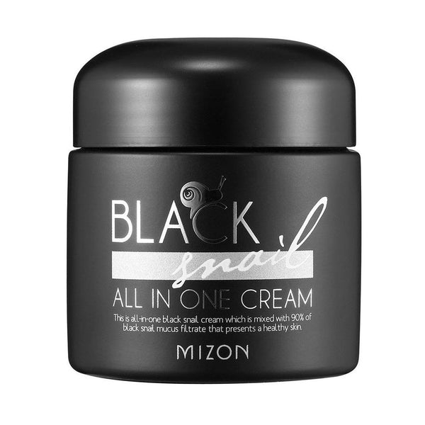 Black Snail All In One Cream 75Ml-Mizon-UAE-BEAUTY ON WHEELS