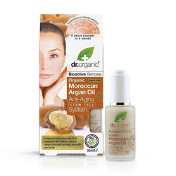 Moroccan Argan Oil Anti Ageing Stem Cell System 30 Ml-Body Care-Dr Organic-BEAUTY ON WHEELS-UAE-Dubai-Abudhabi-KSA-الامارات