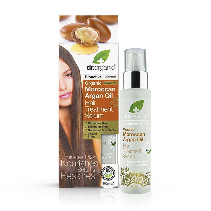 Moroccan Argan Oil Hair Treatment Serum 100Ml-Hair Care-Dr Organic-BEAUTY ON WHEELS-UAE-Dubai-Abudhabi-KSA-الامارات