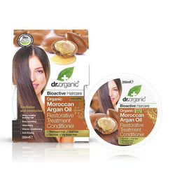 Moroccan Argan Oil Restorative Treatment Conditioner 200 Ml-Dr Organic-UAE-BEAUTY ON WHEELS