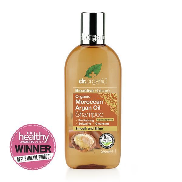 Moroccan Argan Oil Shampoo 265Ml-Dr Organic-UAE-BEAUTY ON WHEELS