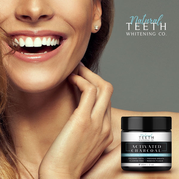 Natural Teeth Whitening 50 G - 2 Pack 1 Month Course-Tom Oliver-UAE-BEAUTY ON WHEELS