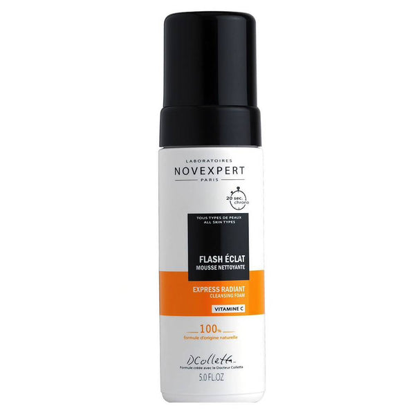 Vitamin C Express Radiant Cleansing Foam-NOVEXPERT-UAE-BEAUTY ON WHEELS