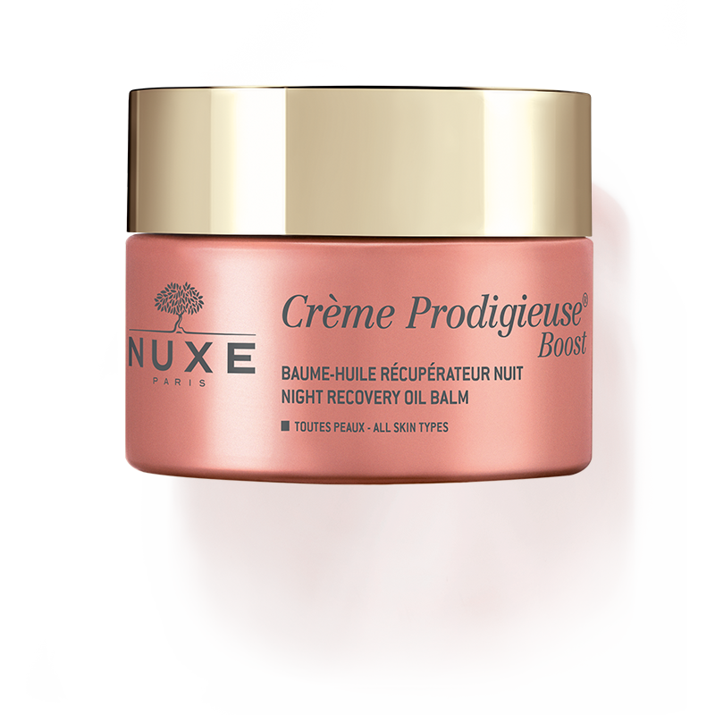 Nuxe-Creme Prodigieuse Boost Night recovery oil balm-BEAUTY ON WHEELS