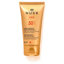 Nuxe-Melting Cream High Protection for Face SPF 50-BEAUTY ON WHEELS