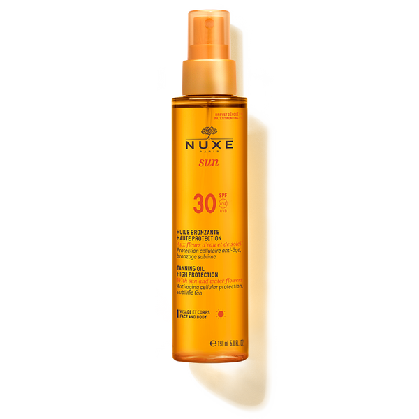 Nuxe-Tanning Oil High Protection for Face and Body SPF 30-BEAUTY ON WHEELS