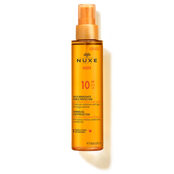 Nuxe-Tanning Oil Low Protection for Face and Body SPF 10-BEAUTY ON WHEELS