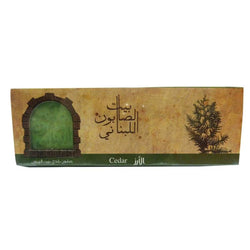 Bayt Al Saboun-Olive Oil Baladi Soap Cedar 80G X3 Online UAE | BEAUTY ON WHEELS