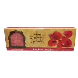 Olive Oil Baladi Soap Rose 80G X3-Body Care-Bayt Al Saboun-BEAUTY ON WHEELS-UAE-Dubai-Abudhabi-KSA-الامارات
