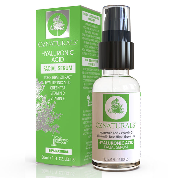OZNaturals-Hyaluronic Acid Serum-BEAUTY ON WHEELS