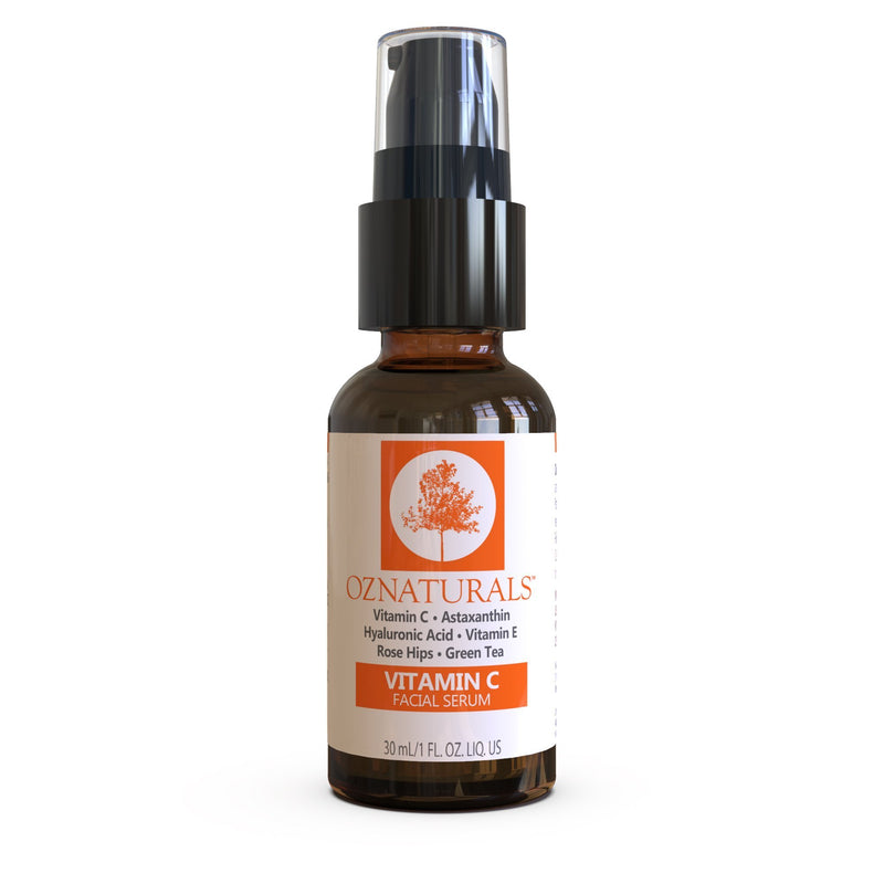 OZNaturals-Vitamin C Facial Serum-BEAUTY ON WHEELS