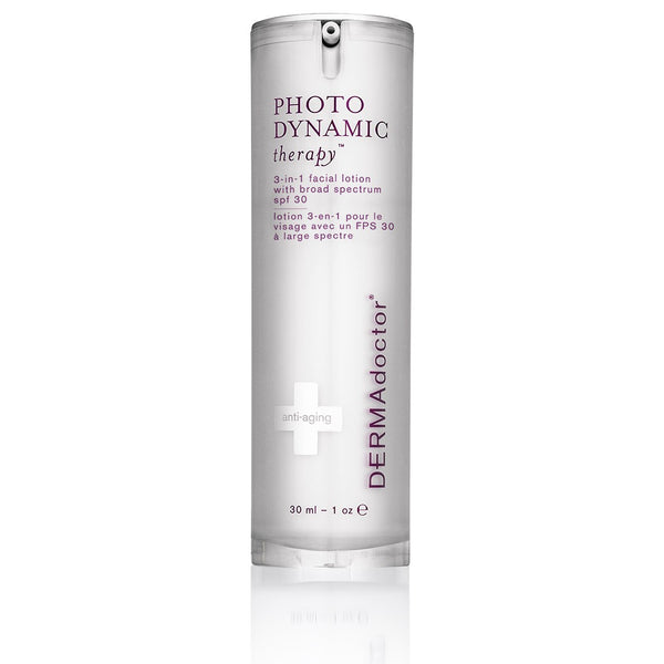 Photodynamic 3-in-1 Facial Lotion with Broad Spectrum SPF 30-DERMAdoctor-UAE-BEAUTY ON WHEELS