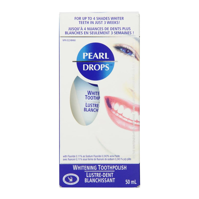 Pearl Drops-Whitening Toothpolish Hollywood Smile 50ml-BEAUTY ON WHEELS