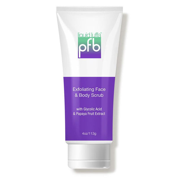 Liquid Luffa Exfoliating Face & Body Scrub-PFB Vanish-UAE-BEAUTY ON WHEELS