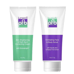 TWO-STEP SKIN LIGHTENING SYSTEM FOR THE BODY-PFB Vanish-UAE-BEAUTY ON WHEELS
