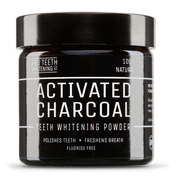 Activated Charcoal Natural Teeth Whitening Powder 50g-Proteeth Whitening UK-UAE-BEAUTY ON WHEELS