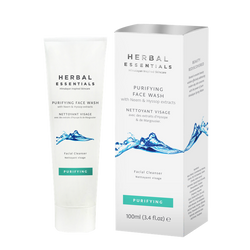 Purifying Face Wash With Neem & Hyssop Extracts-Herbal Essentials-UAE-BEAUTY ON WHEELS