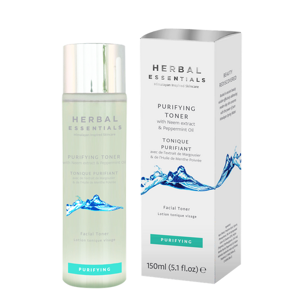 Purifying Toner With Neem Extract & Peppermint Oil-Herbal Essentials-UAE-BEAUTY ON WHEELS