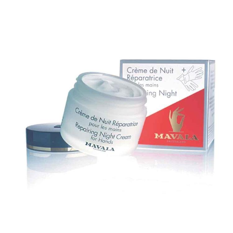 Repairing Night Cream For Hands 75Ml-Body Care-Mavala-BEAUTY ON WHEELS-UAE-Dubai-Abudhabi-KSA-الامارات
