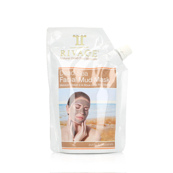 Rivage-Dead Sea Facial Mud Mask 500 gm-BEAUTY ON WHEELS