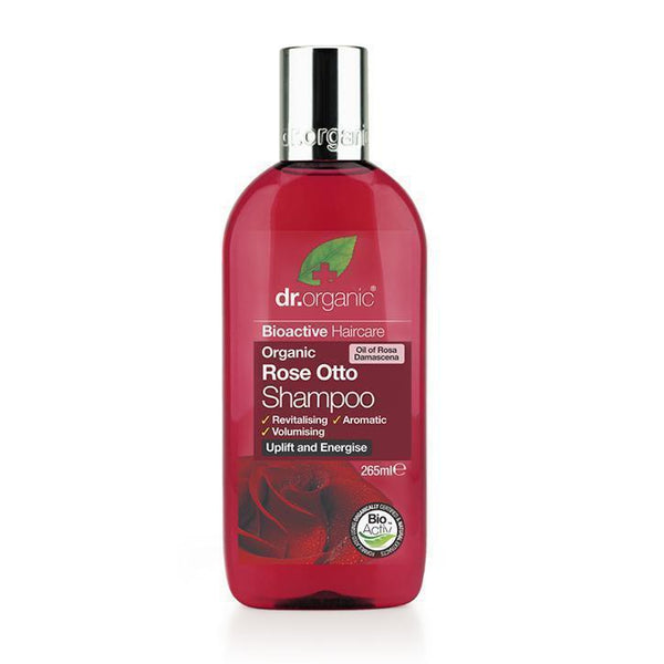 Rose Otto Shampoo 265Ml-Dr Organic-UAE-BEAUTY ON WHEELS