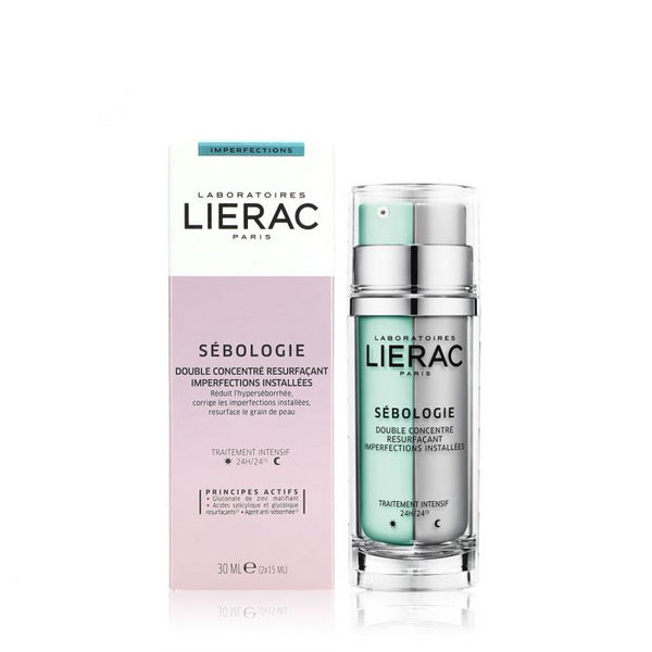 Sebologie double concentrate imperfections renovation-Lierac-UAE-BEAUTY ON WHEELS