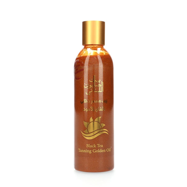 Bayt Al Saboun-Black Tea Tanning Golden Oil - 250Ml Online UAE | BEAUTY ON WHEELS
