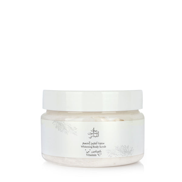 Bayt Al Saboun-Whitening Vitamin C Body Scrub 300G-BEAUTY ON WHEELS