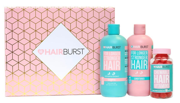 Shampoo & Conditioner & Chewable Vitamins-Hairburst-UAE-BEAUTY ON WHEELS