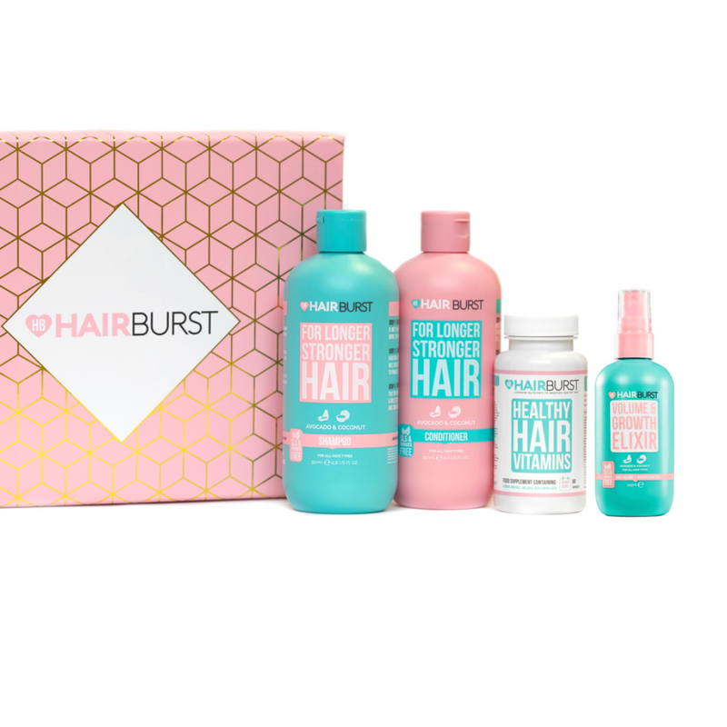 Shampoo & Conditioner, Vitamins & Elixir Trio-Hairburst-UAE-BEAUTY ON WHEELS