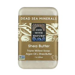 Shea Butter Bar Soap-One With Nature-UAE-BEAUTY ON WHEELS
