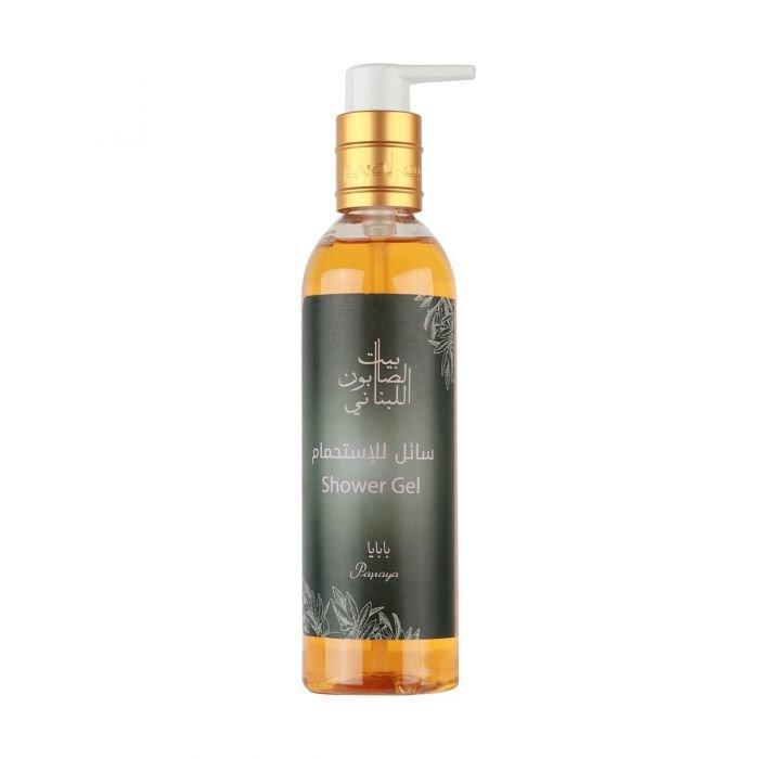 Shower Gel Papaya 250Ml-Bayt Al Saboun-UAE-BEAUTY ON WHEELS