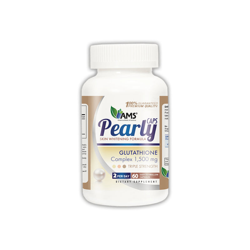 Ams Pearly Caps Skin Whitening Formula