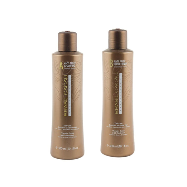 Brasil Cacau Anti Fizz Shampoo & Conditioner 300 Ml