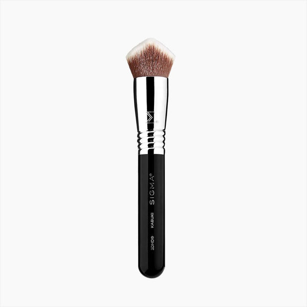 Sigma Beauty-3Dhd Kabuki Brush - Black-BEAUTY ON WHEELS