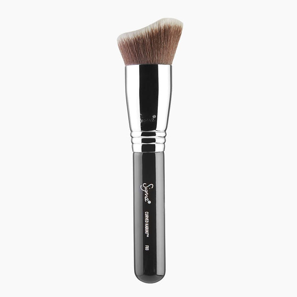 Sigma Beauty-F83 Curved Kabuki Brush-BEAUTY ON WHEELS