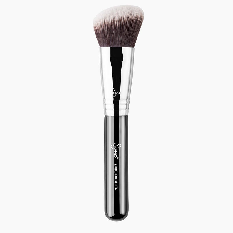 Sigma Beauty-F84 Angled Kabuki Brush-BEAUTY ON WHEELS