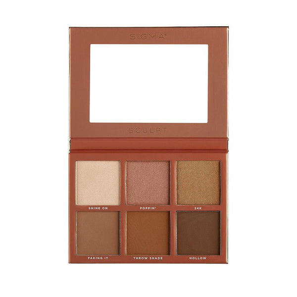 Sigma Beauty-Sculpt Highlight and Contour Palette-BEAUTY ON WHEELS
