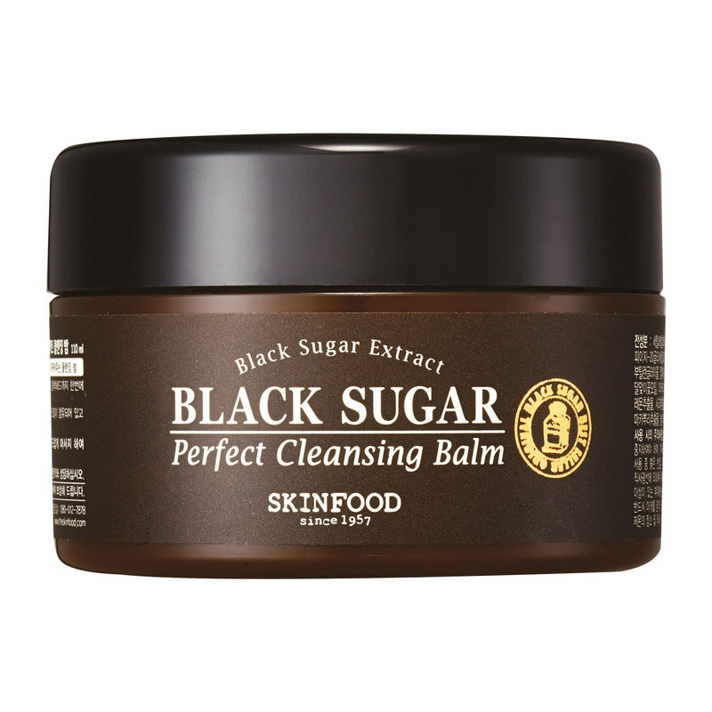 Black Sugar Perfect Cleansing Balm-Skinfood-UAE-BEAUTY ON WHEELS