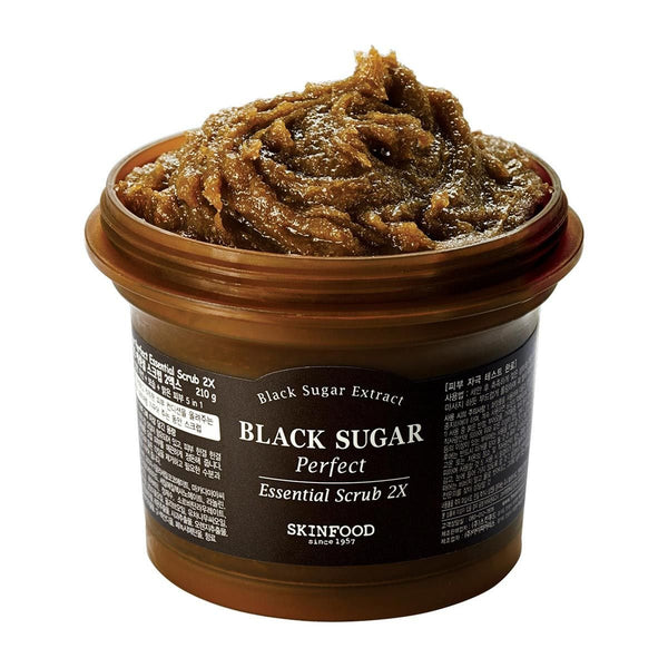 Black Sugar Perfect Scrub 2X-Skinfood-UAE-BEAUTY ON WHEELS